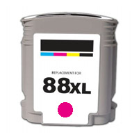 ΣΥΜΒΑΤΟ ΜΕΛΑΝΙ INK HP88XL HP 88XL 88 XL 9392 9387 Magenta Κόκκινο for OfficeJet K550 Series K550XL 32ml