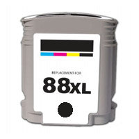 ΣΥΜΒΑΤΟ ΜΕΛΑΝΙ INK HP88XL HP 88XL 88 XL 9396 9385 Black Μαύρο for Ref. HP OfficeJet K550 Series K550 XL 59ml