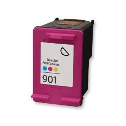 ΣΥΜΒΑΤΟ ΜΕΛΑΝΙ INK HP901XL HP 901XL 901 XL HPCC656A CC656A CC 656 A Color Έγχρωμο for Officejet 4500/G510 18ml