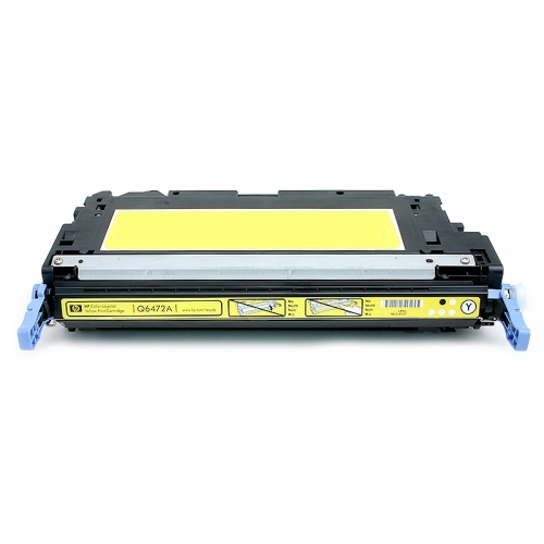 ΣΥΜΒΑΤΟ ΤΟΝΕΡ TONER Compatible Remanufactured HP Q6472A Q 6472 A YELLOW ΚΙΤΡΙΝΟ FOR LJ COLOR 3600 4000 ΣΕΛΙΔΕΣ