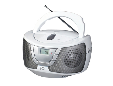 ΦΟΡΗΤΟ CD PLAYER IQ CD-470 RADIO CD PLAYER