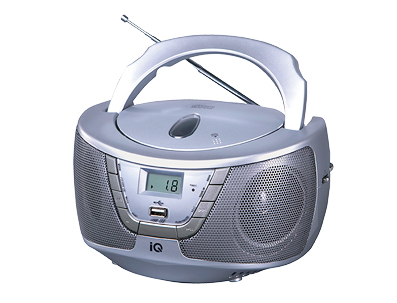 ΦΟΡΗΤΟ CD PLAYER IQ CD-490 MP3 PLAYER WITH USB