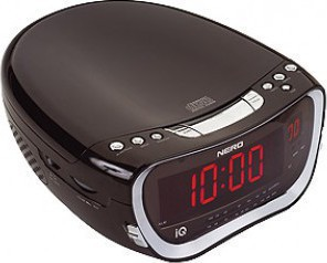 IQ CD-600 CD PLAYER CLOCK ALARM RADIO