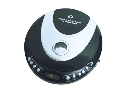 ΦΟΡΗΤΟ CD PLAYER MP3 IQ DM-501 FM Stereo Radio