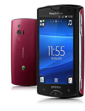 Κινητό τηλέφωνο Sony Ericsson Xperia Mini Black Red ΚΟΚΚΙΝΟ MOBILE PHONE