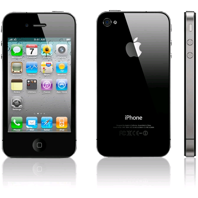 Κινητό τηλέφωνο Apple iPhone 4 8GB Black MOBILE PHONE