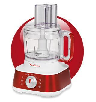 ΠΟΛΥΜΙΞΕΡ MOULINEX FP653D MASTERCHEF 8000 RED RUBY COLLECTION