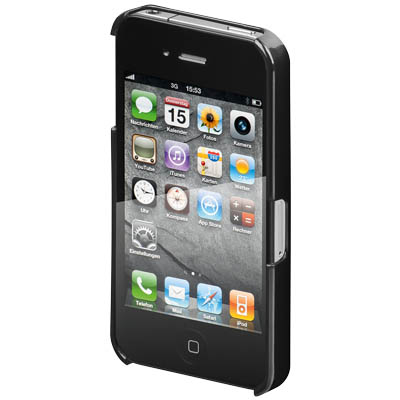 62449 HARDCOVER BLACK FOR IPHONE 4S Σκληρή θήκη για το iPhone 4s