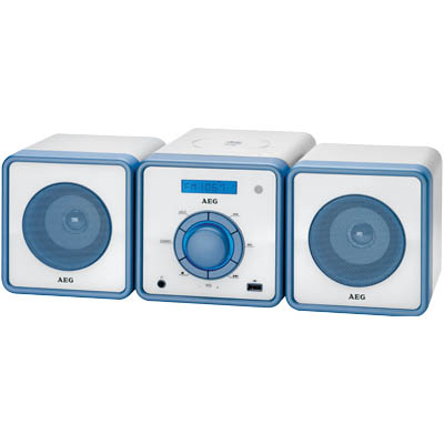 MC 4455 BLUE STEREO MUSIC CENTER 000401 Στερεοφωνικό Music Center 100W(PMPO)
