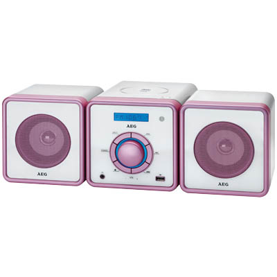 MC 4455 PINK STEREO MUSIC CENTER 000418 Στερεοφωνικό Music Center 100W(PMPO)