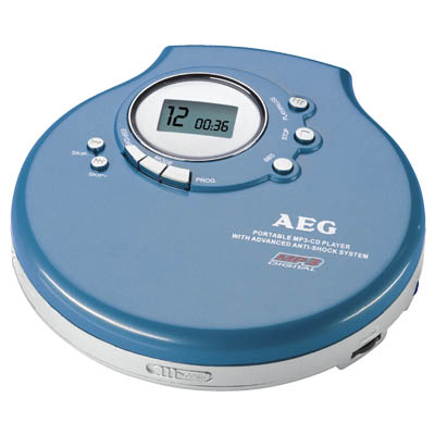 CDP 4212 BLUE ΦΟΡΗΤΟ CD PLAYER 04850 Φορητό CD / MP3 player