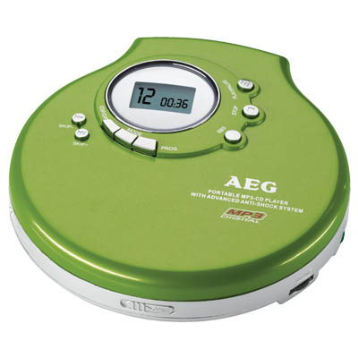 CDP 4212 GREEN ΦΟΡΗΤΟ CD PLAYER 04854 Φορητό CD / MP3 player