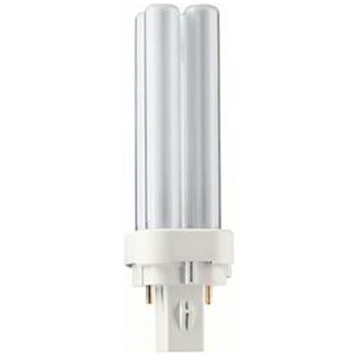 "CFL FDS 4PIN 13W 4000/ FDS13E40/4D Λαμπτήρας οικονομίας G24q-1 13W, 4PIN με χρωματισμό ""Cool White "", 10.000 ωρών."