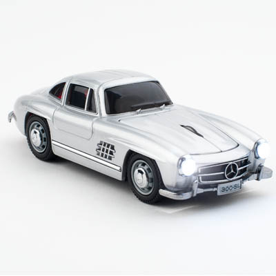 MERCEDES SL300 WIRELESS SILVER CLICK CAR MOUSE / CCM660103 Ασύρματο οπτικό ποντίκι - Mercedes SL300.