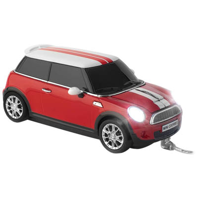 MINI COOPER S WIRED RED CLICK CAR MOUSE / CCM660226 Ενσύρματο οπτικό ποντίκι MINI COOPER S