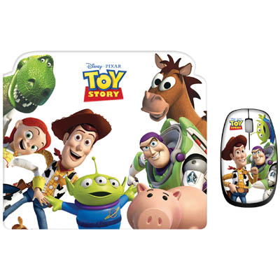 "DSY TP8002 ""TOY STORY"" MO195&MP095 TWO PACK Σετ mini ποντίκι και mousepad ""TOY STORY"""