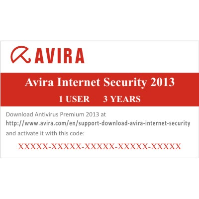 AVIRA INTERNET SECURITY 2013 1 USER 3 YEARS /ISEC-36 Avira Internet Security 2013