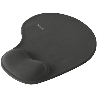 TRUST 16977 BIGFOOT MOUSE PAD-BLACK Bigfoot Gel Mousepad