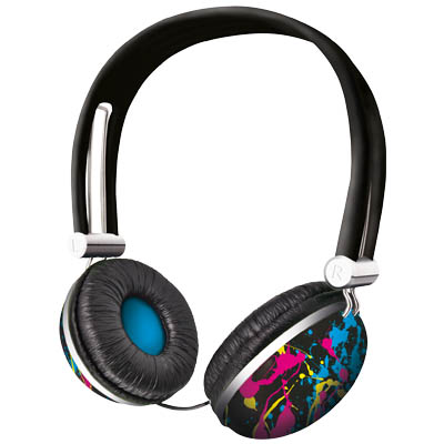 TRUST 17394 HEADSET - NIGHT SPLASH Ακουστικά Urban Revolt Headset - Night Splash