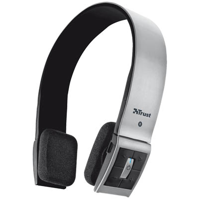 TRUST 18214 WLESS BLUET DESIGN HEADS Ασύρματο ακουστικό Bluetooth