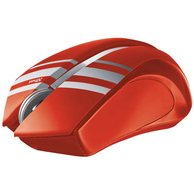 TRUST 18825 SULA WLESS MOUSE -RED Συμπαγές ασύρματο ποντίκι Sula