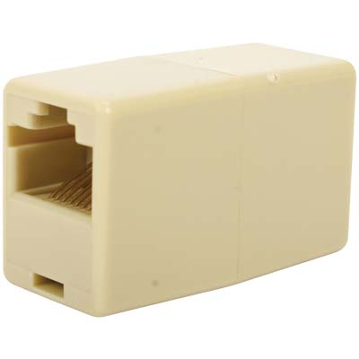 TEL-0008/8CW ADAPTER CROSSOVER CONVERTER Μούφα RJ45 8x8 , Crossover θηλ. -θηλ.