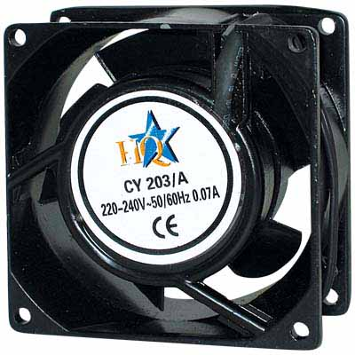 CY 203/A AC FAN 80X80X38MM Blower.
