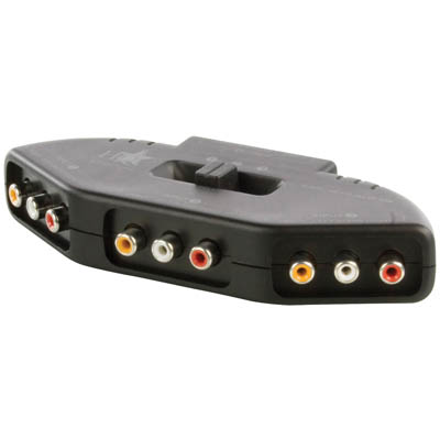 AVSWITCH-6 3WAY AV SWITCH
