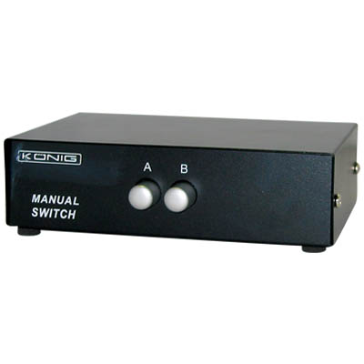 CMP-SWITCH 50 SWITCH 2 MON/1 H/Y Switcher 2 μόνιτορ σε 1 Η/Υ ή 2 Η/Υ σε 1 μόνιτορ.