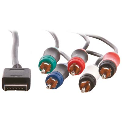 GAMPS2-CA03 PS2 COMPONENT CONNECTION CABLE Καλώδιο KONIG 12pins PS2 A/V αρσ. - 5χ RCA
