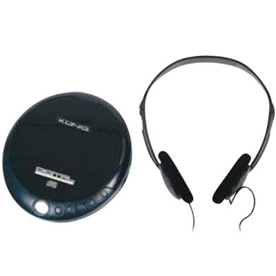 HAV-DISC 11 PORTABLE CD PLAYER BLACK Φορητό CD player