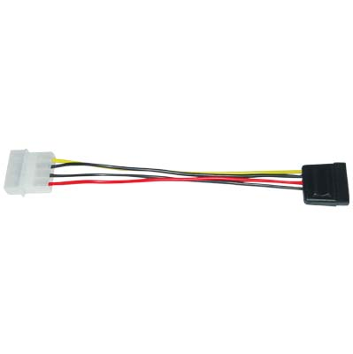 CABLE-259 S-ATA POWER CABLE 50674 Καλώδιο 4pin modular-15pin S-ATA power