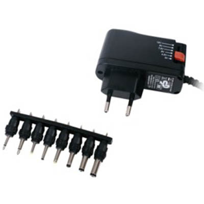 P.SUP.SMP 1-BL SWITCH-M 3-12V Universal switching τροφοδοτικό 8W