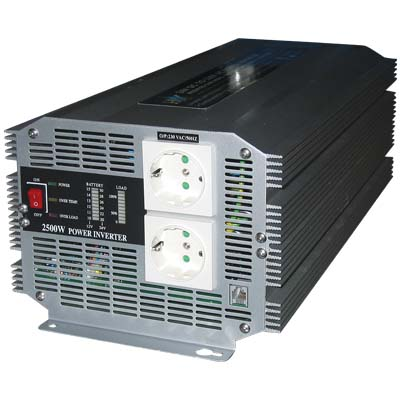 HQ-INVERTER 2500W/24V TO 230V Inverter 2500W 24VDC σε 230VAC.