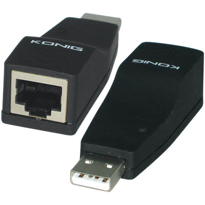 CMP-NW USB 10 ETHERNET ADAPTER KONIG USB1.1 TO ETHERNET ADAPTER