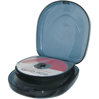 HQ-WPC 24/BL PORTABLE CD CASE 24 CD'S