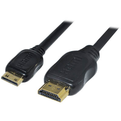 CABLE-5505/2.5 HDMI TO MINI HDMI CABLE VERSION 1.4 Καλώδιο HDMI αρσ. - HDMI mini αρσ.