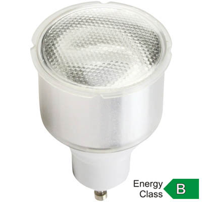 "LAMP EC72HQ HQ ENERGY SAVING REFLECTOR 11W Λαμπτήρας οικονομίας GU10 T2 11W με χρωματισμό ""Cold white"", MR16 style, 8000 ωρών. Ενεργειακής κλάσης Β."