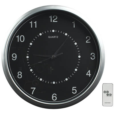 SEC-DVRW CA 10 WALL CLOCK WITH BUILT-IN CAMERA AND RECORDER Ρολόι τοίχου με ενσωματωμένη κάμερα