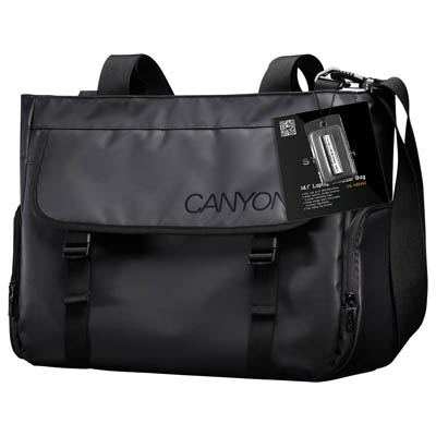 CNL-MBNB14 15,6'' LAPTOP SHOULDER BAG CANYON Τσάντα μεταφοράς για laptop 14.1''
