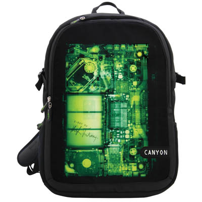 CNL-NB07X BACKPACK FOR 15,6'' NOTEBOOK CANYON Τσάντα - σακίδιο πλάτης για laptop 15.6''