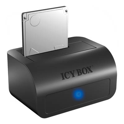 "ICY BOX-IB-116StU3-B DOCKINGSTATION FOR 2,5"" +3.5"" SATA HDD to USB3.0 /20808 HDD docking station 2.5"" & 3.5"" SATA HDD"