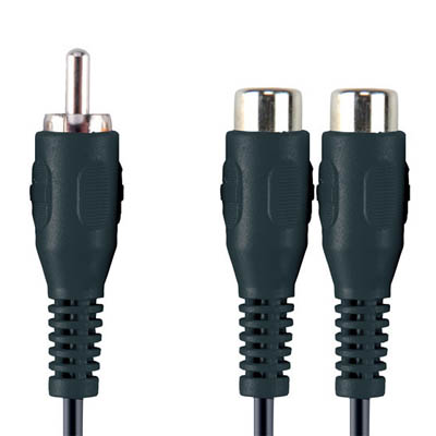 VAL4500 RCA M - 2x RCA F 0.2m Καλώδιο ήχουBandridge Value line, RCA male - 2 x RCA female σε μήκος 0.2m.