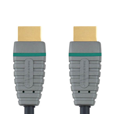 BVL1001 HDMI M - HDMI M 1m Καλώδιο εικόνας ήχου Bandridge Blue line, hdmi male - hdmi male σε μήκος 1m.