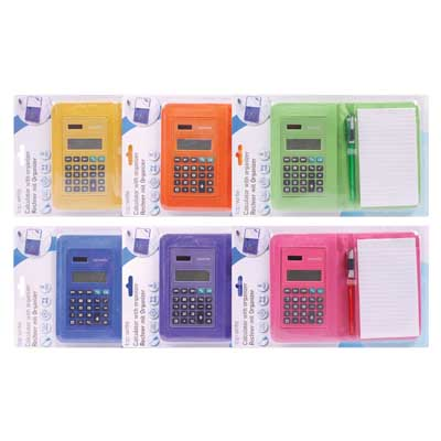 TOPWRITE 96917 CALCULATOR & ORGANIZER ASS COLOUR DISPLX12 Αριμομηχανή τσέπης