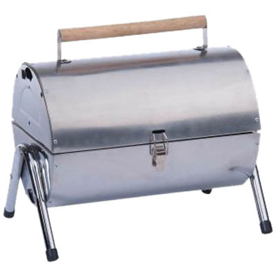 ED 86635 BARBECUE PORTABLE STAINLESS Φορητή ψησταριά Barbeque
