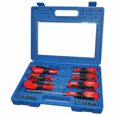 KINZO 06753 SCREWDRIVER SET 21PCS
