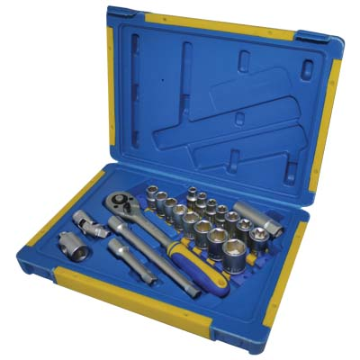 KINZO 29635 TOOLBOX 21PCS