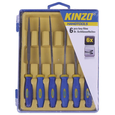 KINZO 71826 KEY FILES 6PCS Σετ Λίμες