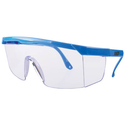 KINZO 71881 SAFETY GLASSES NYLON FRAME SLIDE CARD
